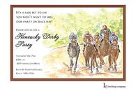 Derby Day Invitation