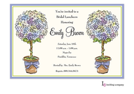 Allium Topiaries Invitation