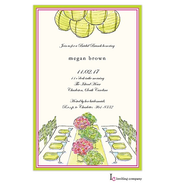 Fancy Table Invitation