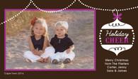 Ornament Custom Photo Card
