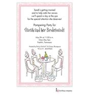 Pampered Girls Invitation