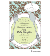 Pretty Placesetting Invitation