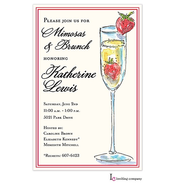 Tall Mimosa Invitation