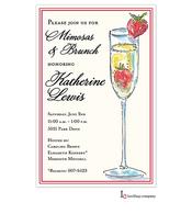 Tall Mimosa Invitation