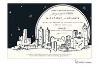 Atlanta Skyline Invitation