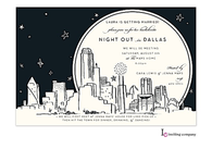 Dallas Skyline Invitation