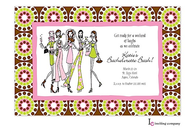 Fab Bachelorette Party Invitation