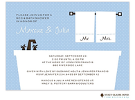 Bed And Bath Shower Invitation