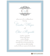 Etched In Love Invitation