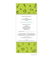 Good Housekeeping Invitation - Chartreuse