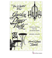 Summer Chandelier Invitation