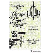 Summer Chandelier Invitation