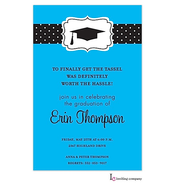 Blue Grad Invitation