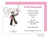 Diploma Girl Invitation