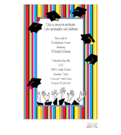 Graduation Toss Invitation