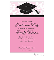 Cap Pink Invitation