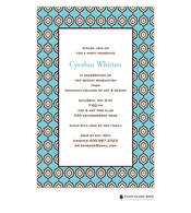 Marrakesh - Aqua Invitation
