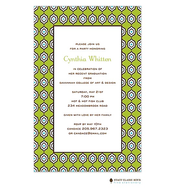 Marrakesh - Green Invitation