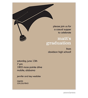 Graduation Tan Invitation