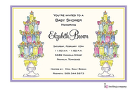 Baby Topiaries Invitation