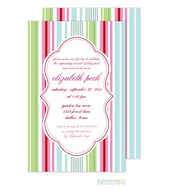 Manhattan Invitation - Pink