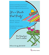 Fiesta Poolside Invitation