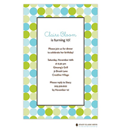Fizzy Bubbles - Aqua Invitation