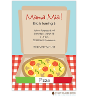 Mama Mia! Party Invitation