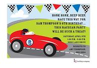 Racer Invitation