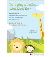 Safari Party Invitation
