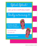 Splish Splash Party Invitation