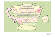 Teacup Invitation