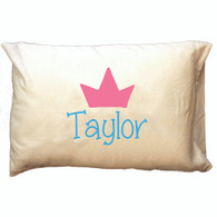 Personalized Pillowcase - Crown
