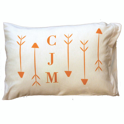 Personalized Pillowcase - Arrows