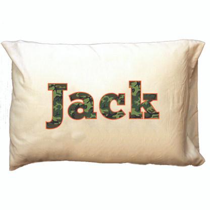 Personalized Pillowcase - Camo