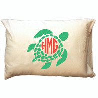 Personalized Pillowcase - Sea Turtle