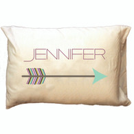 Personalized Pillowcase - Arrow