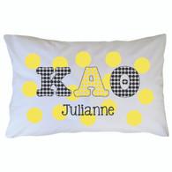 Personalized Greek Pillowcase - Kappa Alpha Theta