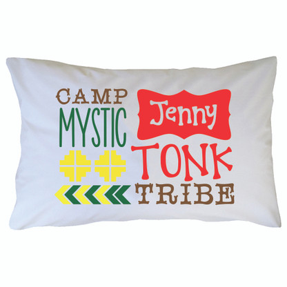Personalized Camp Mystic Pillowcase - Tonk