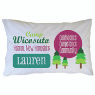 Personalized Camp Wicosuto Pillowcase
