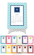 Personalized Modern Desktop Calendar by Boatman Geller