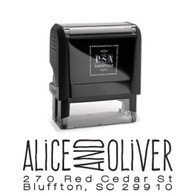 Alice Return Address Stamp