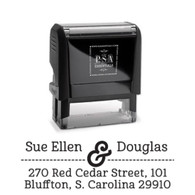 Douglas Return Address Stamp