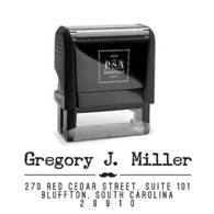 Gregory Return Address Stamp