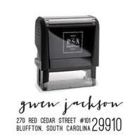 Gwen Return Address Stamp
