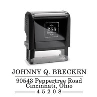 Johnny Return Address Stamp