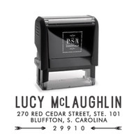 Lucy Return Address Stamp