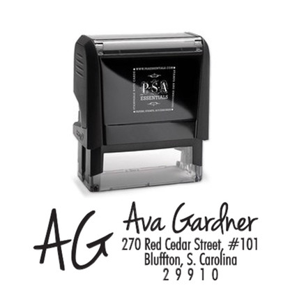 Ava Return Address Stamp