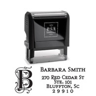 Barbara Return Address Stamp