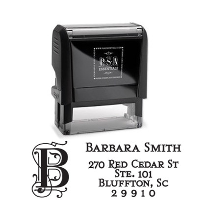 Barbara Return Address Stamp